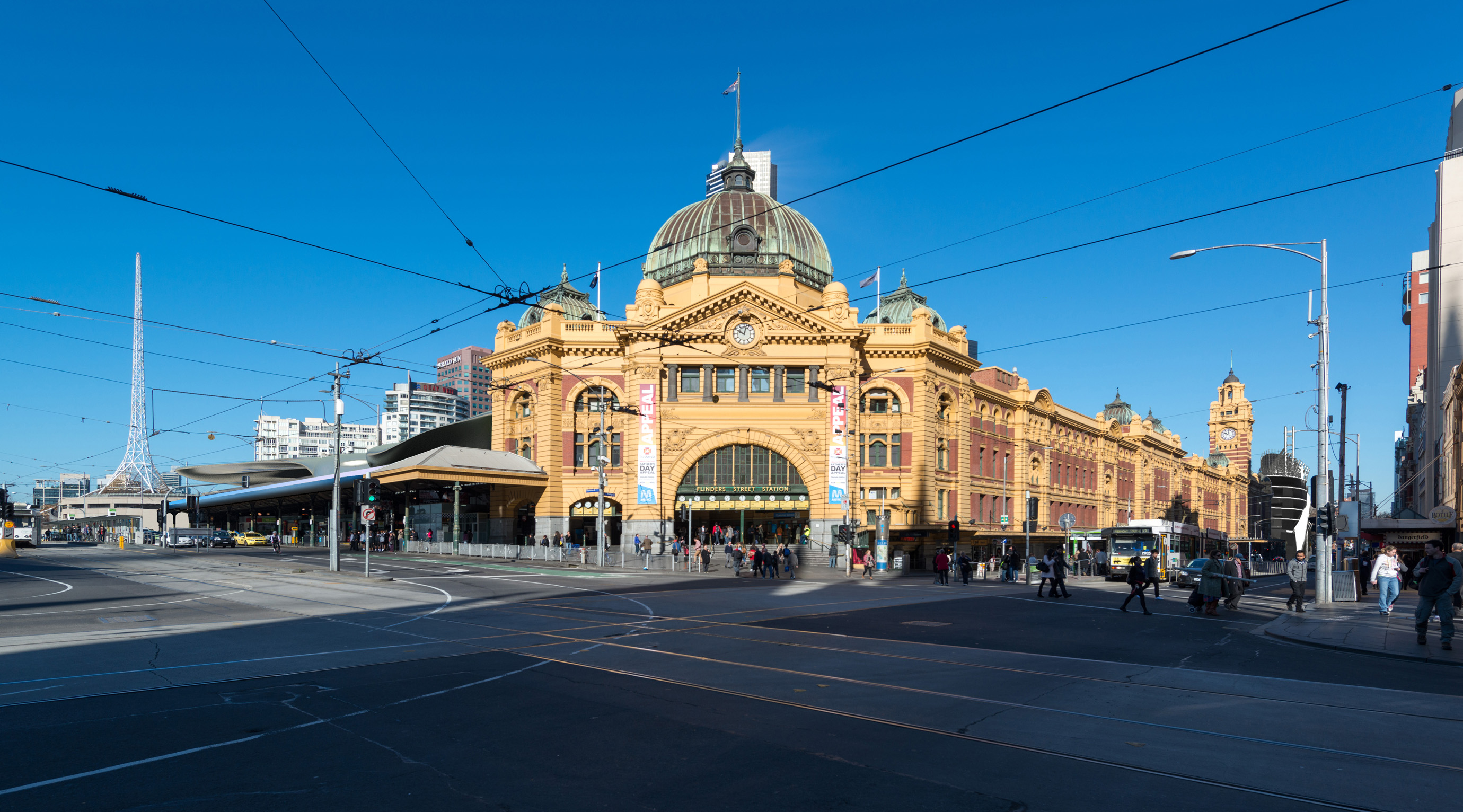 flinders street station design competition atelier red. Black Bedroom Furniture Sets. Home Design Ideas