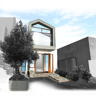 House in Counterpoise